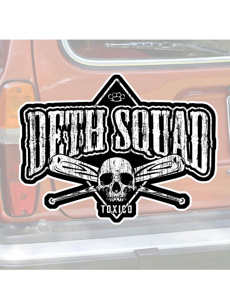 TOXICO - Death Squad Sticker