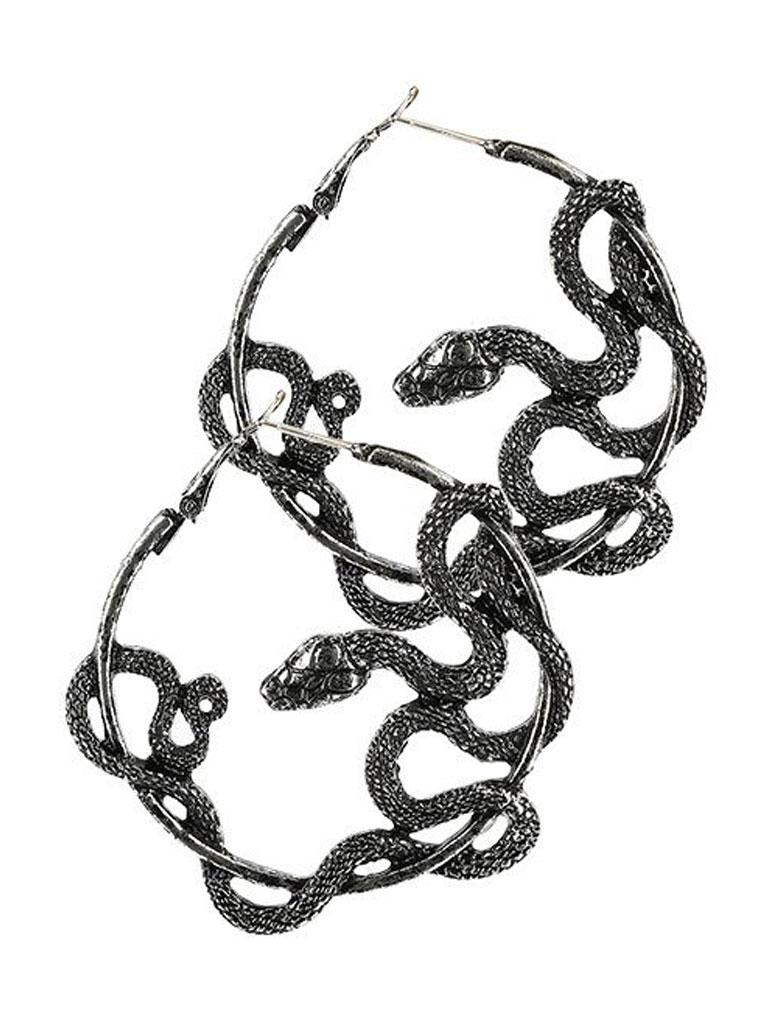 RESTYLE - Entwine Örhängen Silver