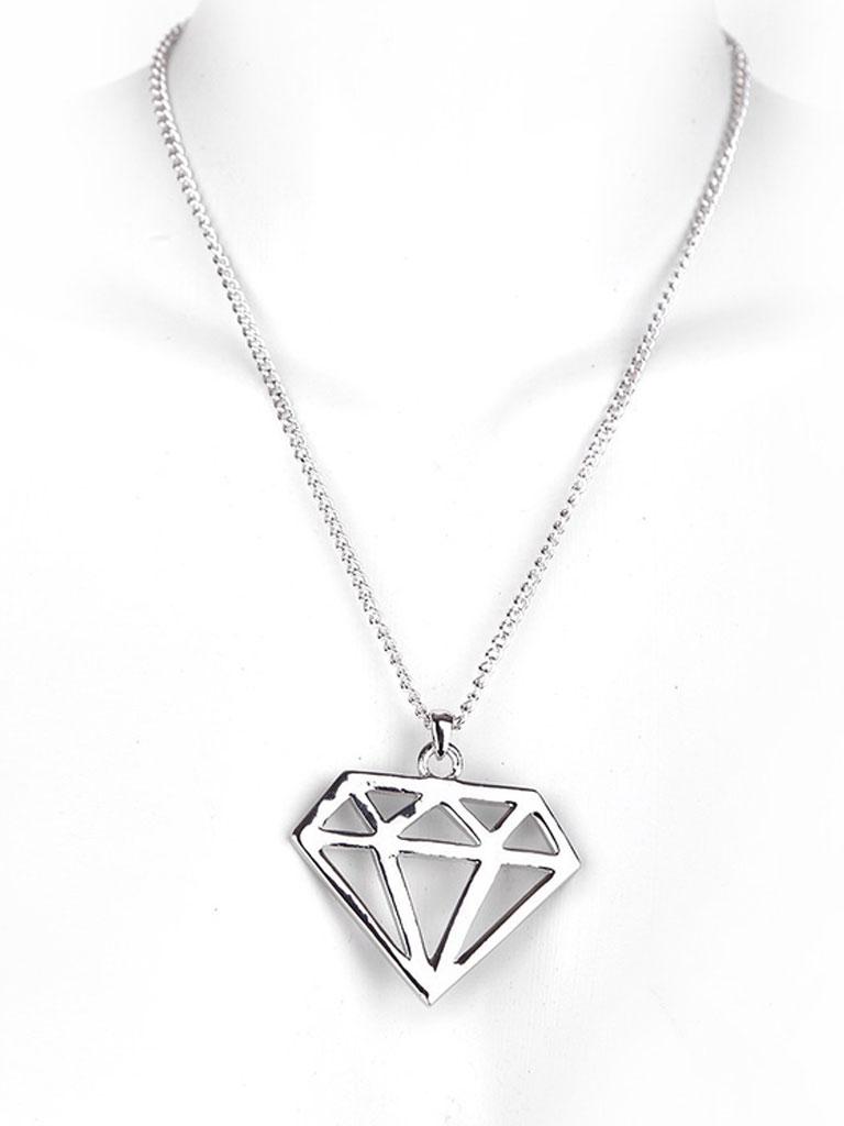 MB MÜLLER - Diamond Halsband Silver