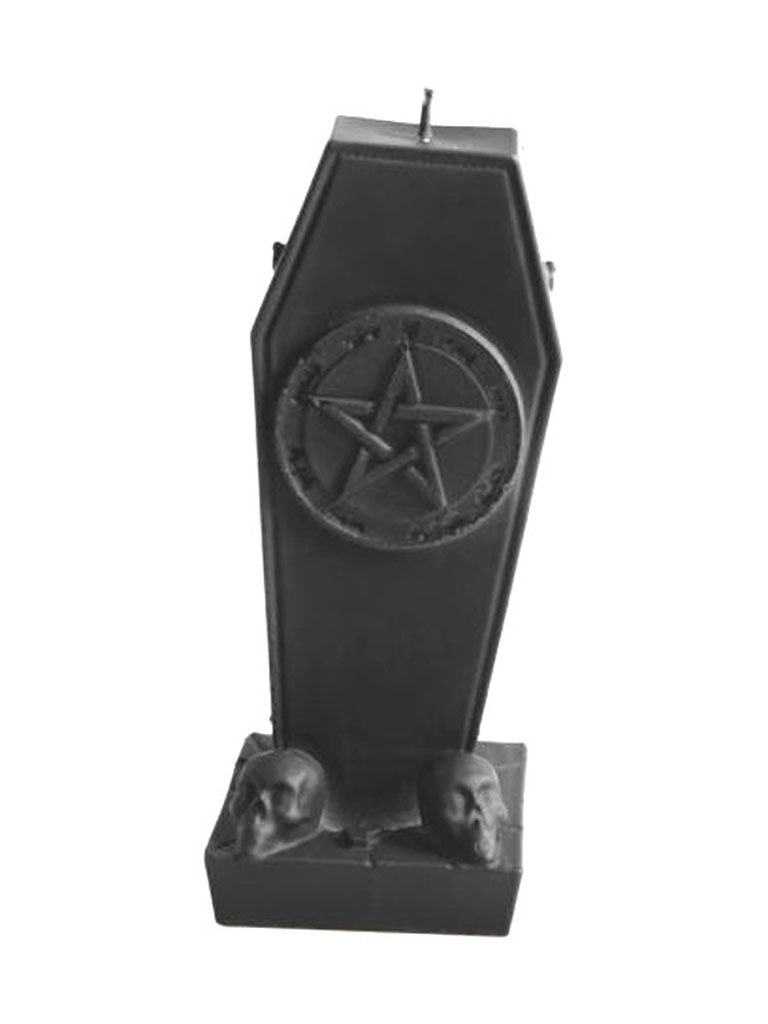 MB MÜLLER - Pentagram Tombstone Candle