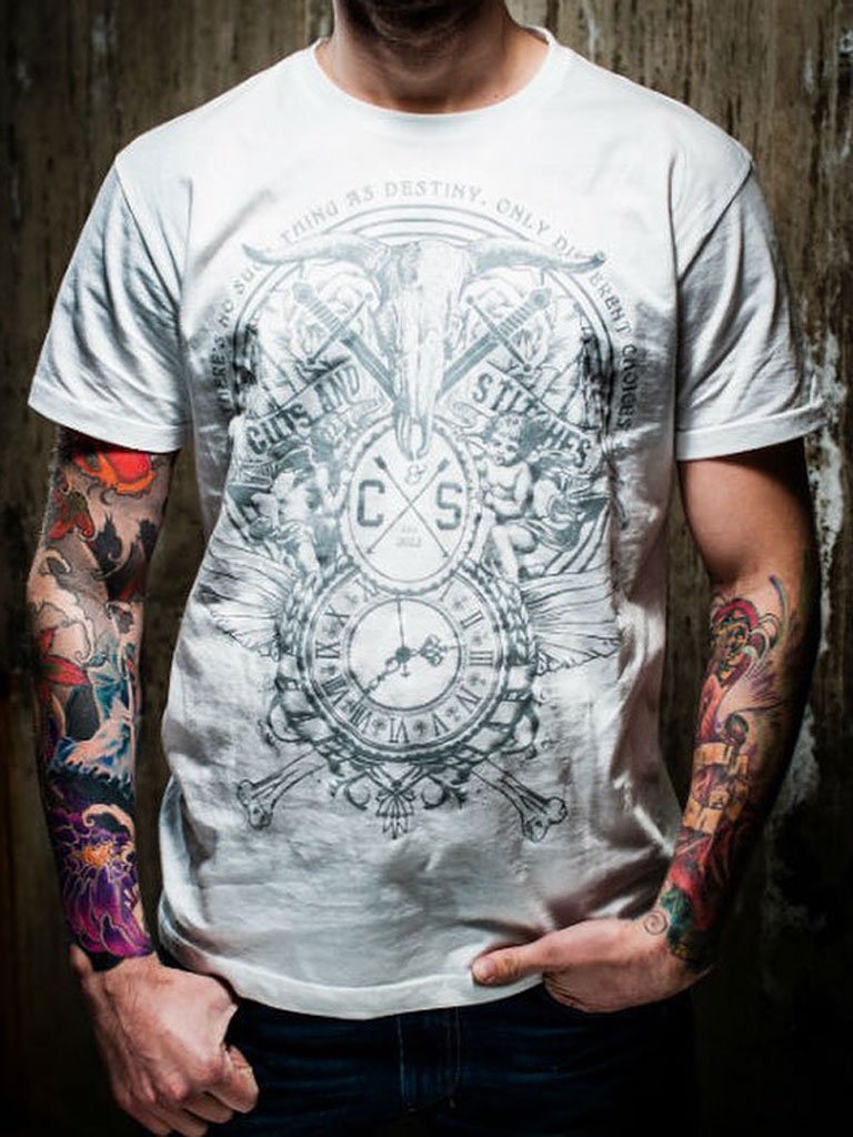 CUTS & STITCHES - Different Choices T-shirt