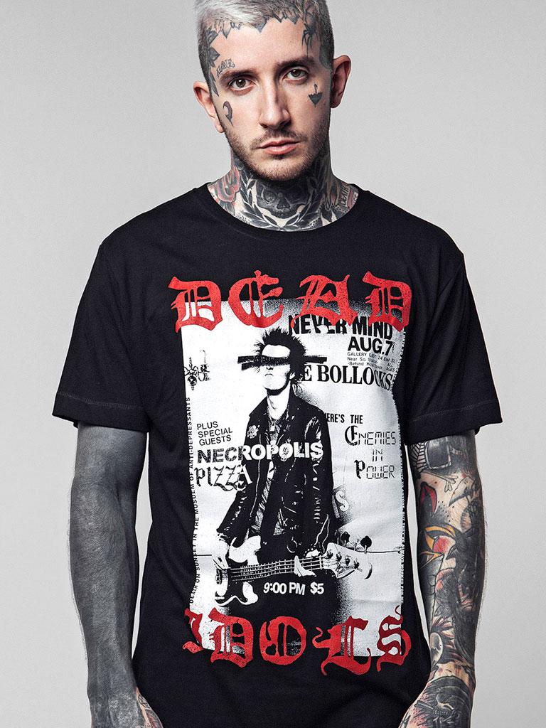 DISTURBIA - Dead Idols T-shirt