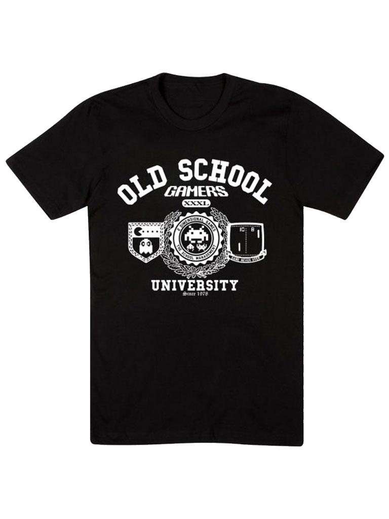 GEEK INVADER - Old School Gamers T-shirt
