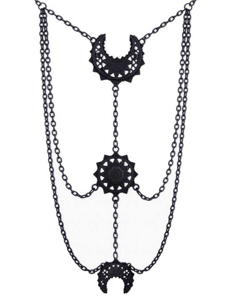 RESTYLE - Oriental Moon Phases Halsband