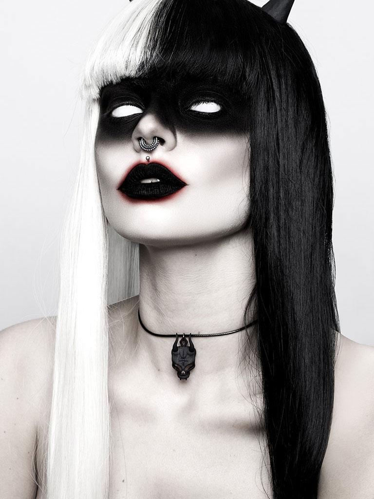 ROGUE + WOLF - Lilith Skull Choker