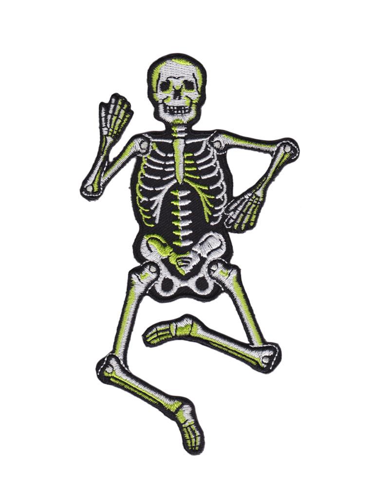 SOURPUSS - Dancing Skeleton Patch