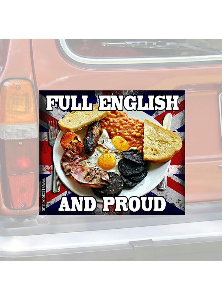 TOXICO - Full English Sticker