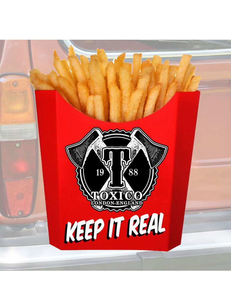 TOXICO - Keep It Real Sticker
