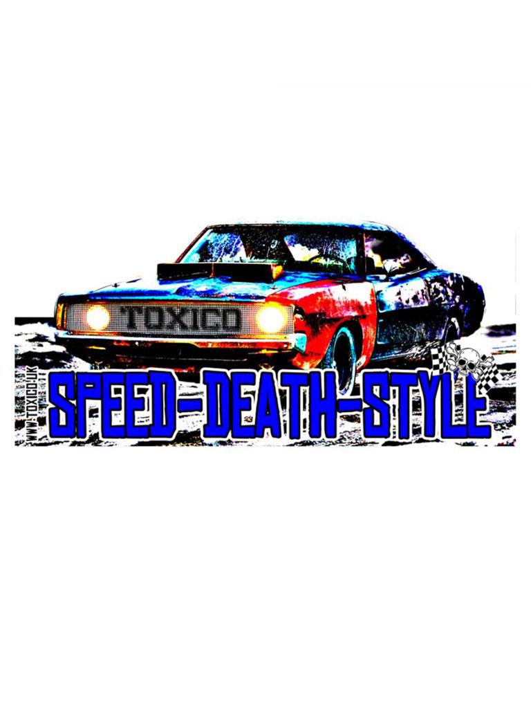 TOXICO - Speed Death Style Sticker